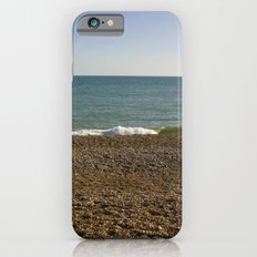 Evening Tide on a cobbled beach iPhone 6s Slim Case
