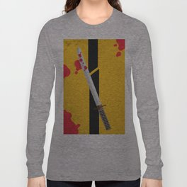 KILL BILL Tribute Long Sleeve T-shirt