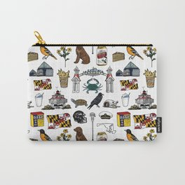 Maryland Pattern Carry-All Pouch