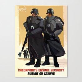 Sporto Propaganda III Canvas Print