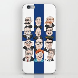 Presidents of Finland iPhone Skin