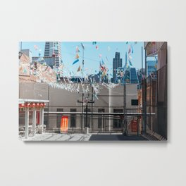 Hoop Dreams Metal Print