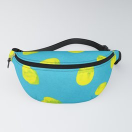 Turquoise Mustard Fanny Pack