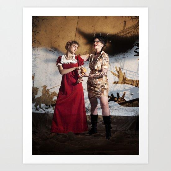 Vasalisa the Beautiful Art Print