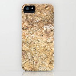 colored stone iPhone Case
