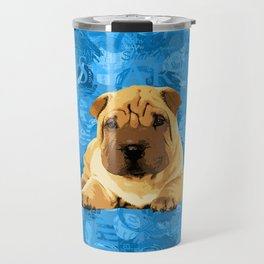 Shar-Pei puppy Travel Mug