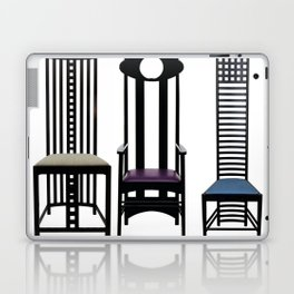 "Charles Rennie Mackintosh ""Chairs"" Laptop & iPad Skin"