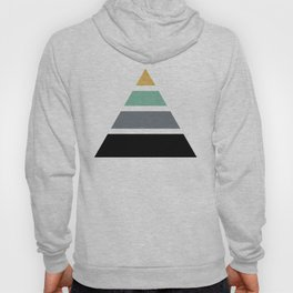DIVIDED PYRAMID TRIANGLE WIT GOLDEN CAPSTONE Hoody
