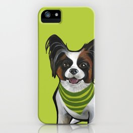 Norman the papijack iPhone Case