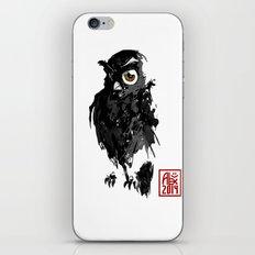 Hibou / Owl iPhone & iPod Skin