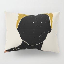 Black Hair No. 10 Pillow Sham