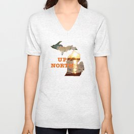 Up North Unisex V-Neck
