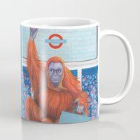 frank Mugs featuring Frank by Sarah Underwood Illustration