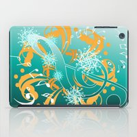 music notes iPad Cases featuring Music Notes  by HK Chik
