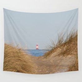 At the beach 10 Wall Tapestry