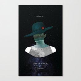 Pluviophile Canvas Print