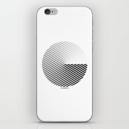 Stripes Can be in a Disc iPhone Skin