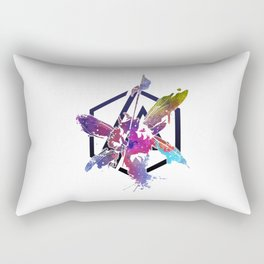 The Theory - LP Art Rectangular Pillow