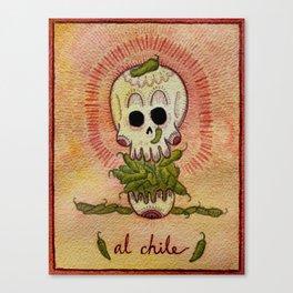Al Chile  Canvas Print