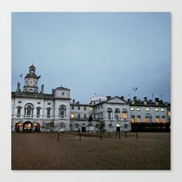 Whitehall London at Dusk Canvas Print
