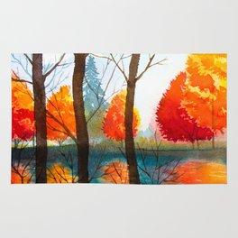 Autumn scenery #5 Rug