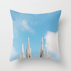 Bolt Out of the Blue Throw Pillow
