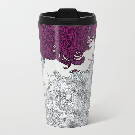 Linger in my Soul Metal Travel Mug
