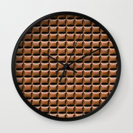 Chocolate Bar Overhead Wall Clock