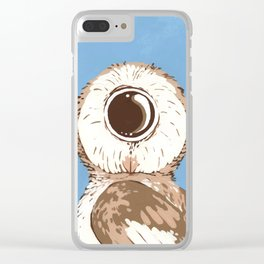 WH? Clear iPhone Case