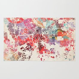 Baltimore map Rug