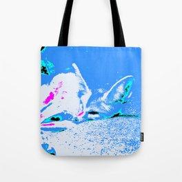 Pop Art Fennec Fox Tote Bag