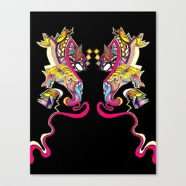 Witch Doctor Canvas Print
