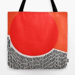 Sunshine And Rain Abstract Tote Bag