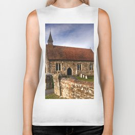 St Mary The Virgin Ebony Biker Tank