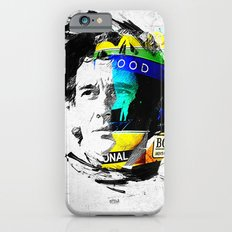 Ayrton Senna do Brasil - White & Color Series #4 Slim Case iPhone 6
