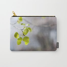 Baby Aspen Leaves Carry-All Pouch