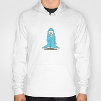 leon Hoodies featuring Leon the friendly Yeti by Terry Irwin