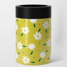 spring, yellow Can Cooler