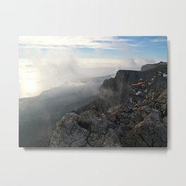 Freedom in the mountains Metal Print