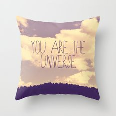 You Are The Universe  Throw Pillow