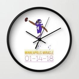 Minnesota Miracle Wall Clock