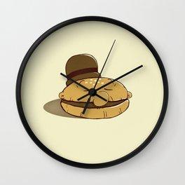 Burger Fiend Wall Clock