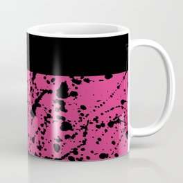 Splat Black On Yarrow Boarder Coffee Mug