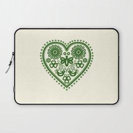 Folk Heart Laptop Sleeve