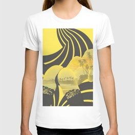 Sunset Silhouette (yellow) T-shirt