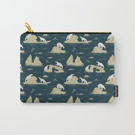 Go North - Navy Carry-All Pouch