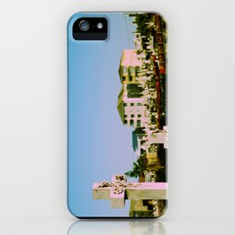 Suburban afterlife iPhone Case