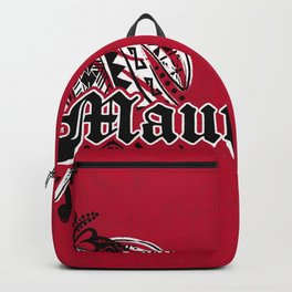 Maui Poly Tribal Distressed Backpack