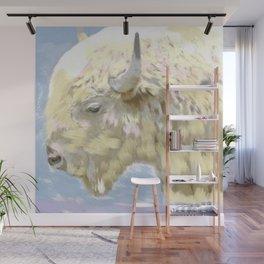 White buffalo calf Wall Mural