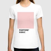pantone T-shirts featuring PANTONE 9281C by cvrcak